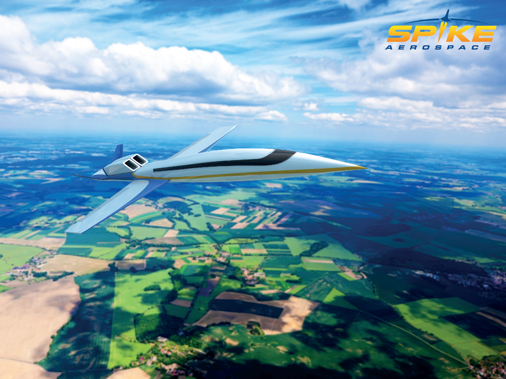 Supersonic Jet Throws Traditional Design 'Out The Window'