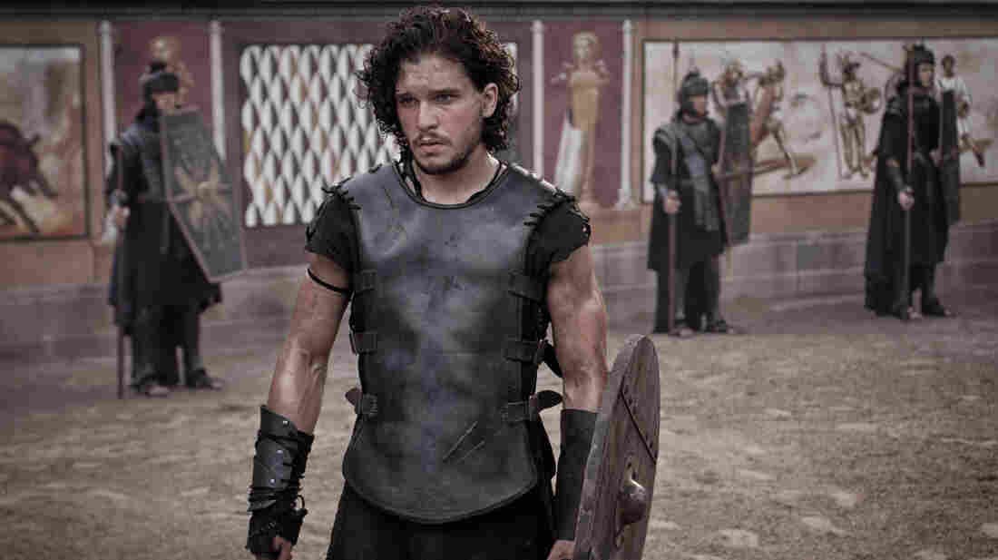 Game of Thrones' Kit Harington plays a gladiator who finds love, friendship and vengeance — all in one fateful weekend — in the shadow of Mount Vesuvius.