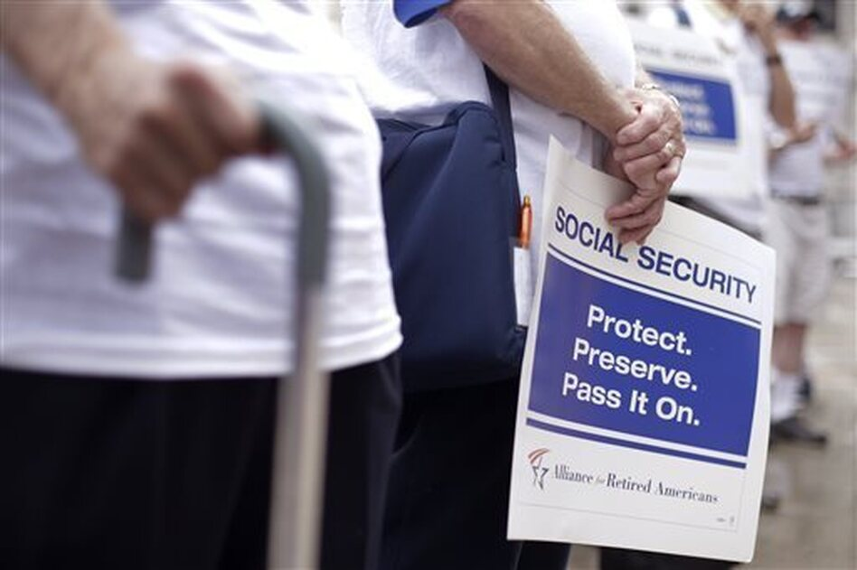 President Obama very likely made Democrats' midterm campaign messaging easier by dropping from his new budget a proposal that would have reduced the size of Social Security checks. (Matt Rourke/AP)