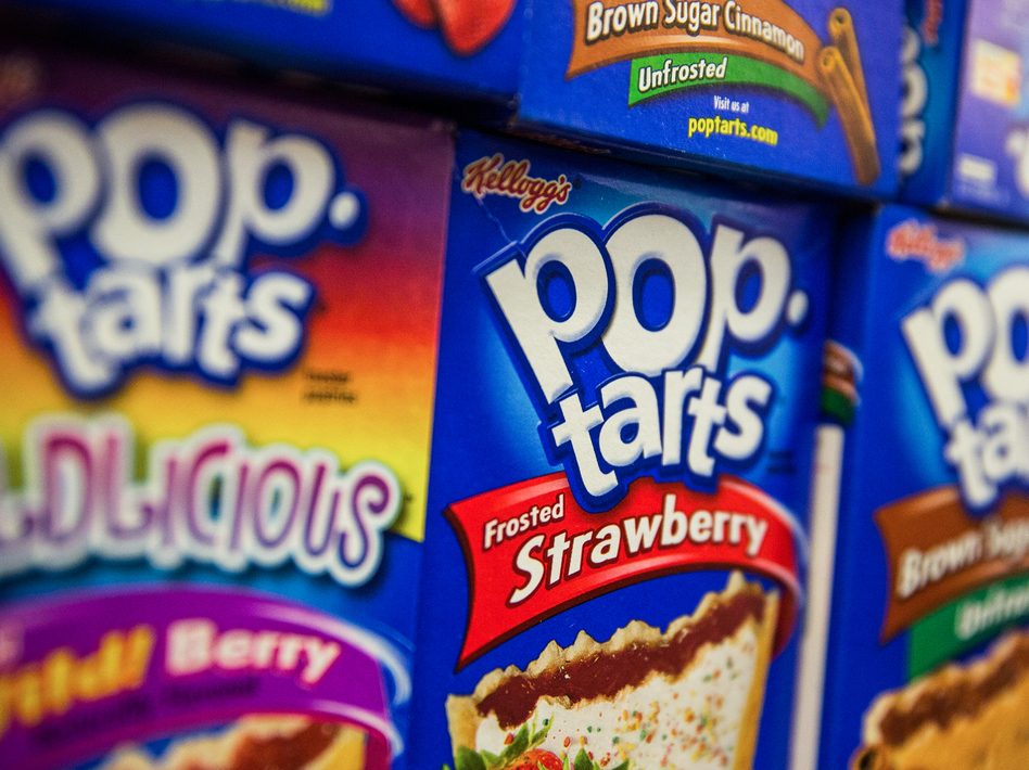 Kellogg, maker of Pop-Tarts, announced Feb. 14 that it will buy palm oil — an ingredient in Pop-Tarts — only from companies that don't destroy rain forests where palm trees are grown. (Andrew Burton/Getty Images)
