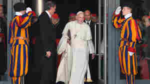 Pope Francis at the Vatican on Friday. The pope created 19 new cardinals in a ceremony Saturday in St Peter's Basilica.