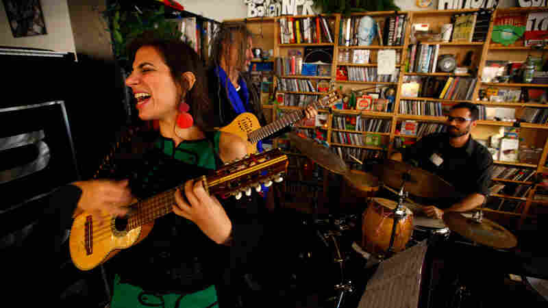 Sofia Rei performs a Tiny Desk Concert.