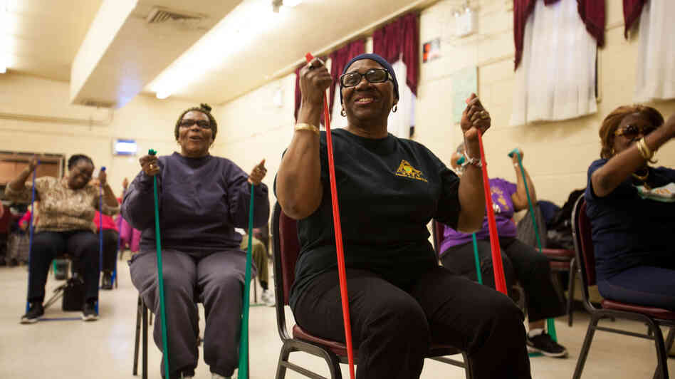 Can Exercising Seniors Help Revive A Brooklyn Neighborhood ...