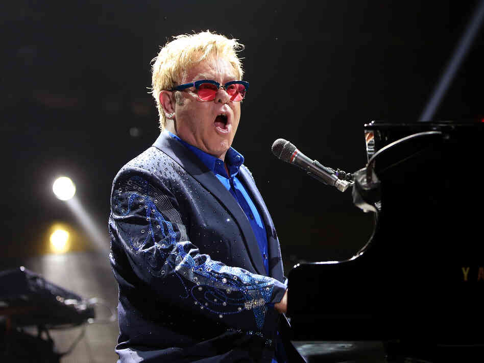 Elton John performs in 2013. Earlier that year, he put out his 31st studio album, The Diving Board.