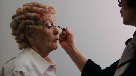 The documentary follows the Tony- and Emmy-winning actress everywhere from backstage to the bedroom to the makeup chair.