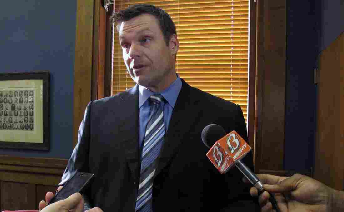 Kansas Secretary of State Kris Kobach, pictured in 2012, previously served as the state GOP chairman.