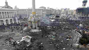 Photos: Kiev's Independence Square Before And After
