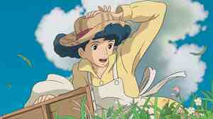 In the film, which Miyazaki says is his last, the wind carries off the parasol of a fragile girl, Nahoko, into the hands of Jiro — who will fall in love with her.