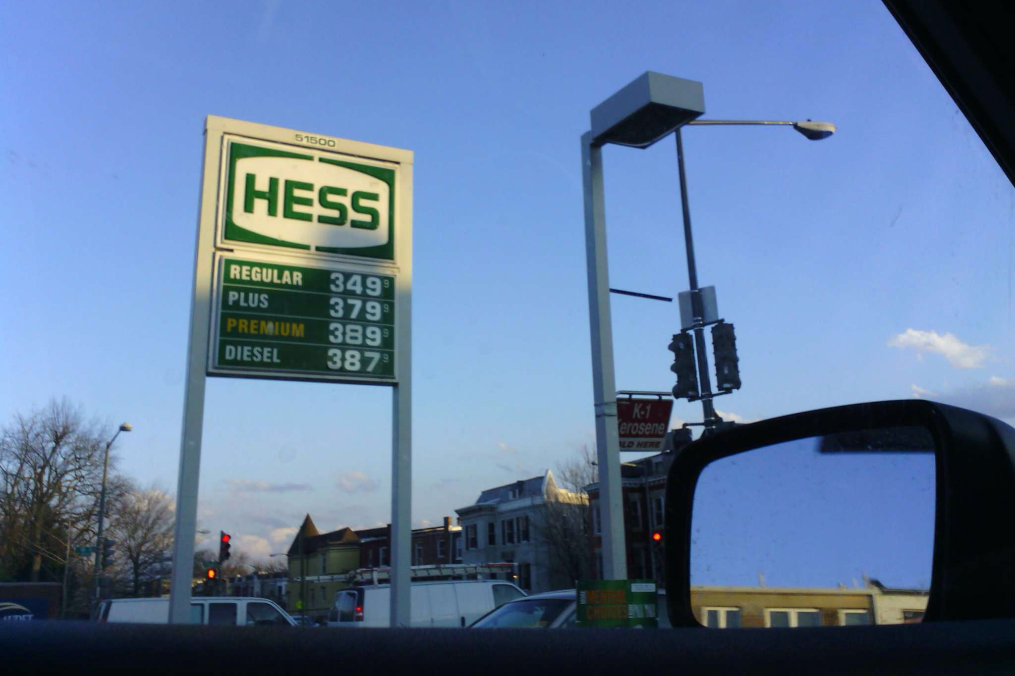 One potential upside: Narrative helps record gas prices when you stop to fill up.