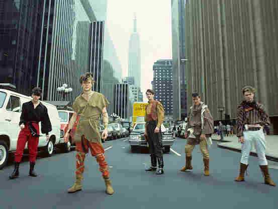 Spandau Ballet in New York City, 1981.