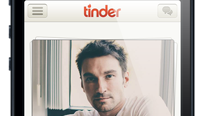 With the Tinder dating app, you swipe right if you want to meet someone, and swipe left if you don't.