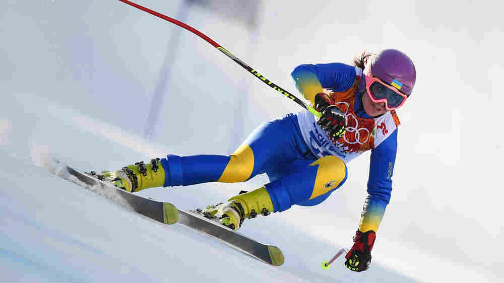 Ukrainian Olympic Skier's Stand Is A Sacrifice For Her Country