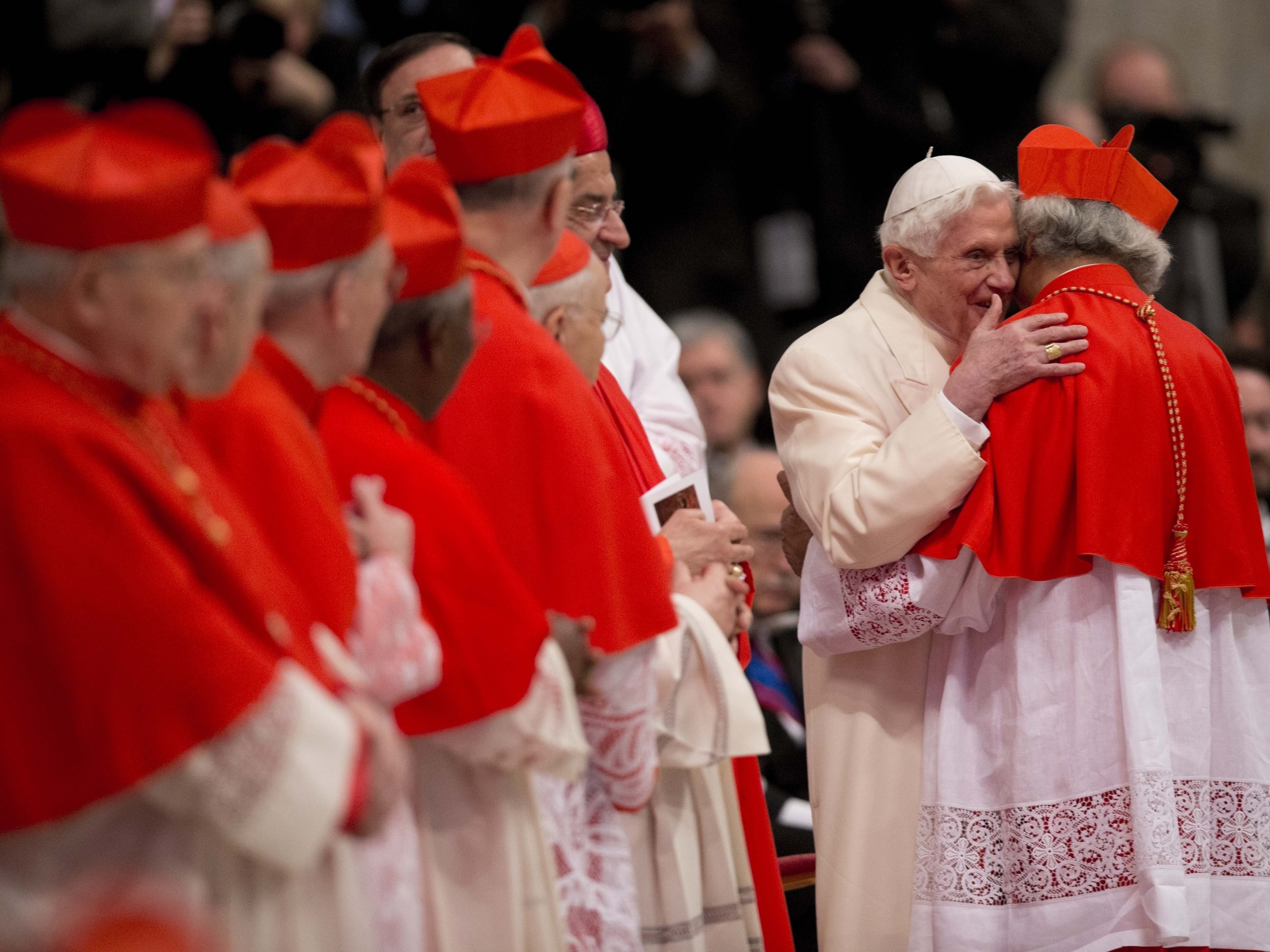 Tale Of Two Popes: Francis, Benedict Appear Together In Public