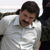 "Joaquin ""El Chapo"" Guzman is escorted to a helicopter in handcuffs by Mexican navy marines at a navy hanger in Mexico City on Saturday. A senior U.S. law enforcement official said that Guzman, the head of Mexico's Sinaloa Cartel, was captured alive overnight in the beach resort town of Mazatlan."