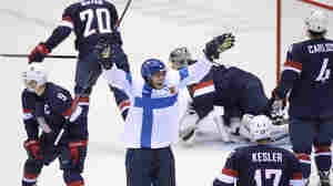 U.S. Men's Hockey Team Loses Bronze To Finland