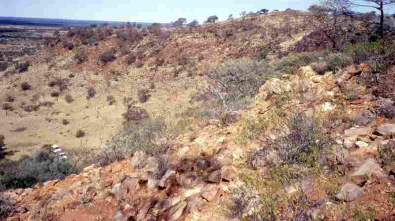 """The Hadean zircons --€ the"""" oldest bits of Earth yet found --€"""" were discovered near here, on a sheep ranch in Jack Hills, Western Australia."""