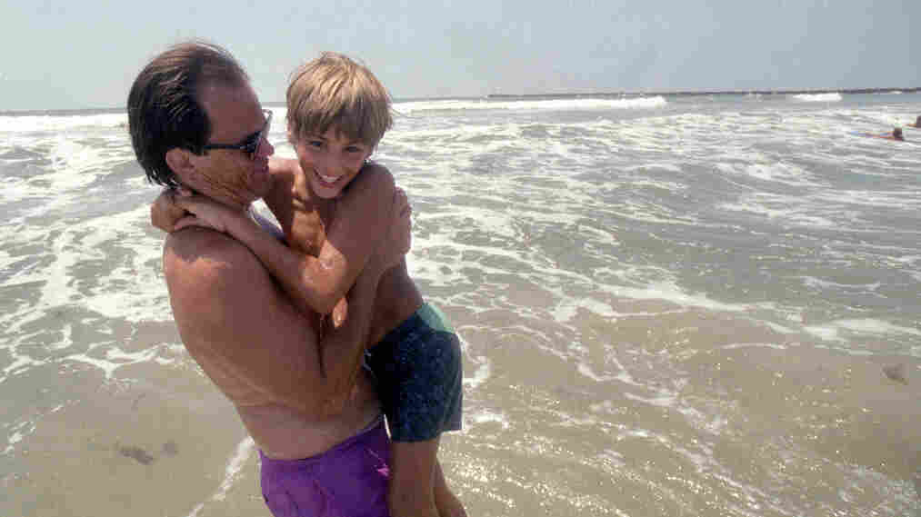 Izidor Ruckel, shown here at age 11 with his adoptive father Danny Ruckel in San Diego, Calif., says he found it hard to respond to his adoptive parents' love.