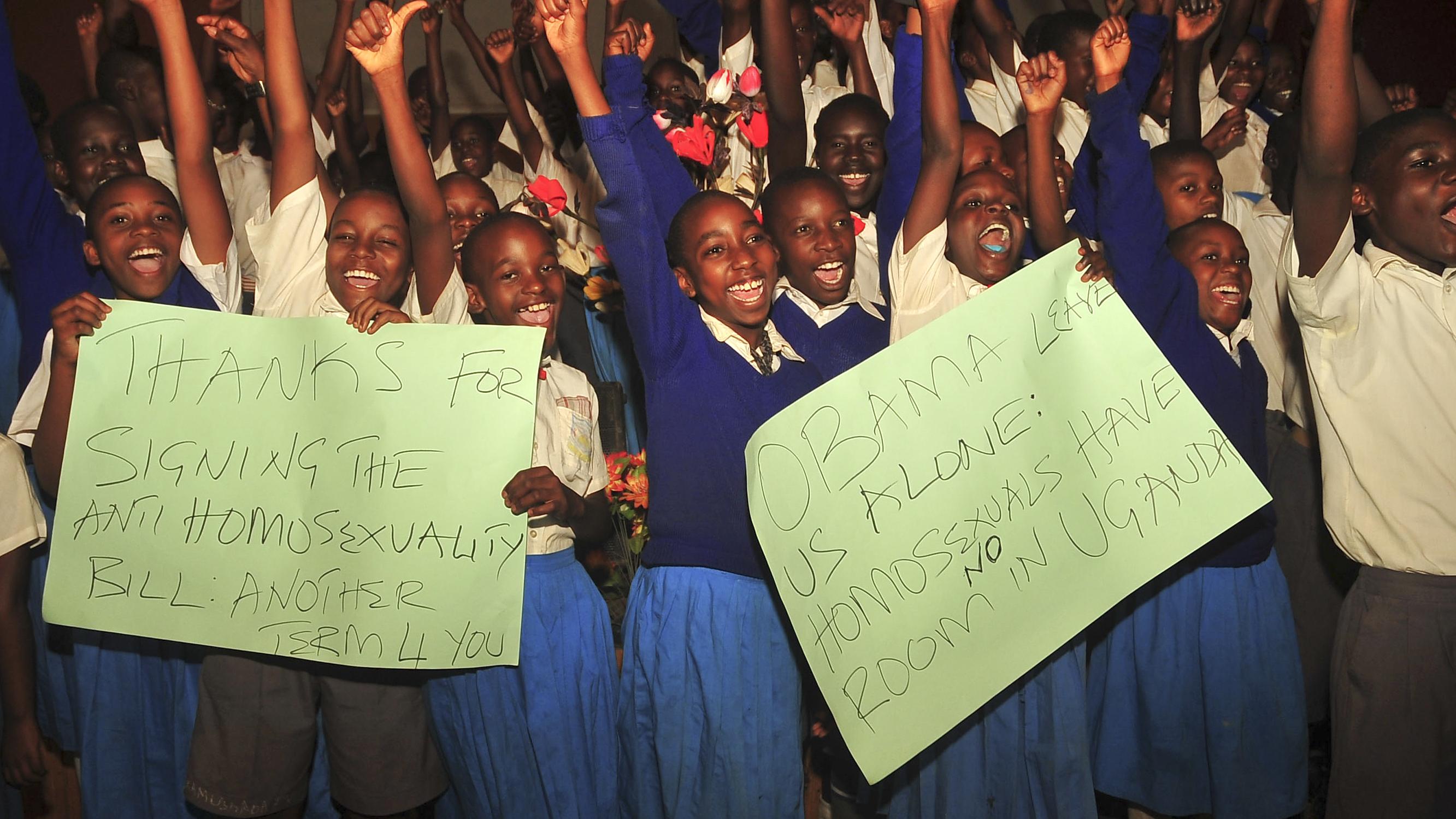 Ugandan President Signs Anti-Gay Measure Into Law