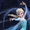 """Queen Elsa embraces her power to freeze things with the anthem """"Let It Go"""" in Frozen."""