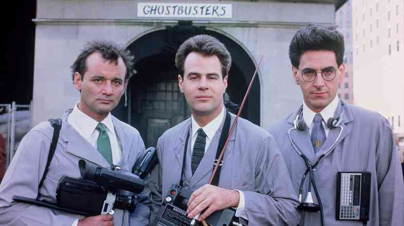 Ghostbusters, starring Bill Murray, Dan Aykroyd and Harold Ramis, was one of Ramis' many successful comedies. The writer, director, actor and producer died Monday; he had co-written and planned to star in the long-awaited Ghostbusters III.