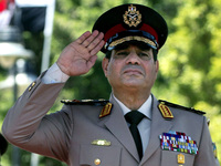 Field Marshal Abdel-Fattah el-Sissi in April 2013.