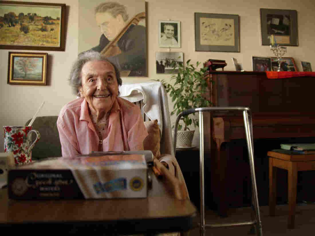 Alice Herz-Sommer in July 2010.