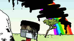 Double Take 'Toons: Get Over The Rainbow?