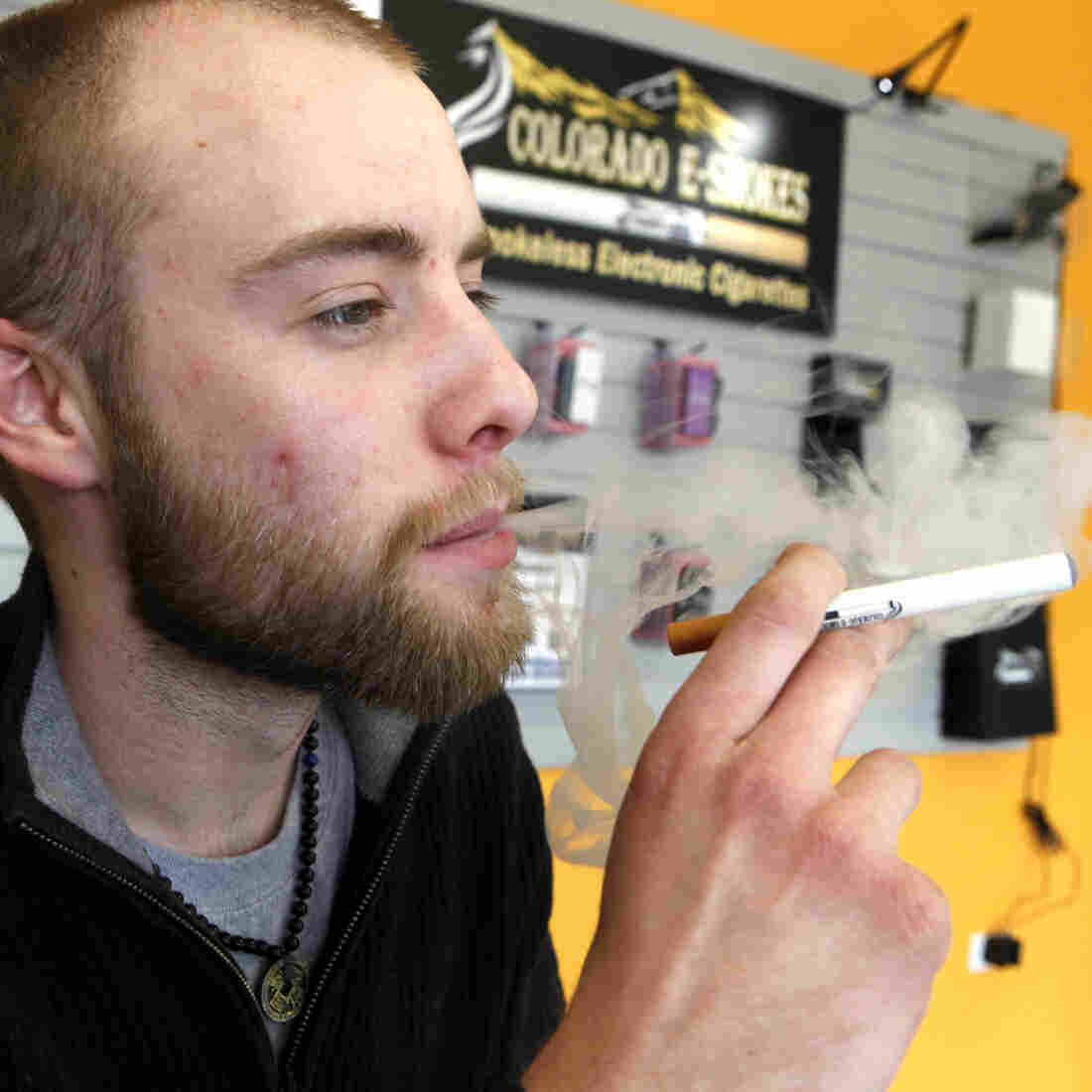 Lobbyists Amp Up Efforts To Sell Washington On E-Cigarettes