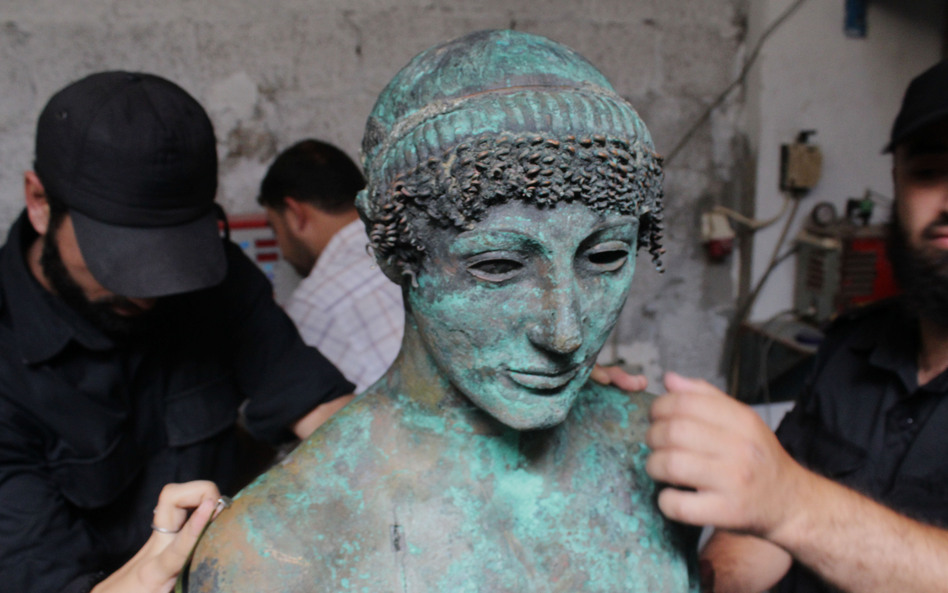 A Greek Treasure Pulled From The Sea Disappears Again In