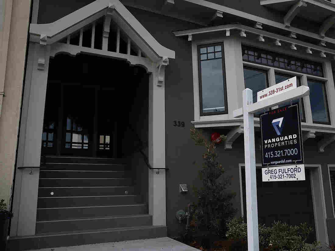 A home for sale earlier this month in San Francisco.