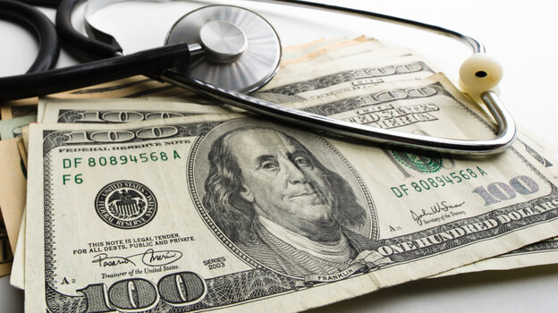 Insurers prohibit doctors from charging more than a copayment or other amount specified in your plan.