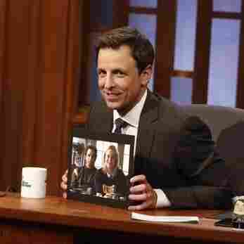 Desk, Set: Seth Meyers Lands In Late Night Very Safely