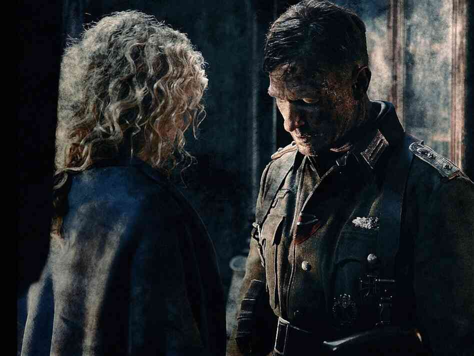 Yana Studilina and Thomas Kretschmann play a Russian woman and a German colonel whose lives collide during the conflict.
