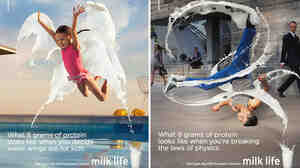 The milk's industry's new campaign, Milk Life, features ordinary people accomplishing all sorts of tasks after jumpstarting their day with a glass of milk.