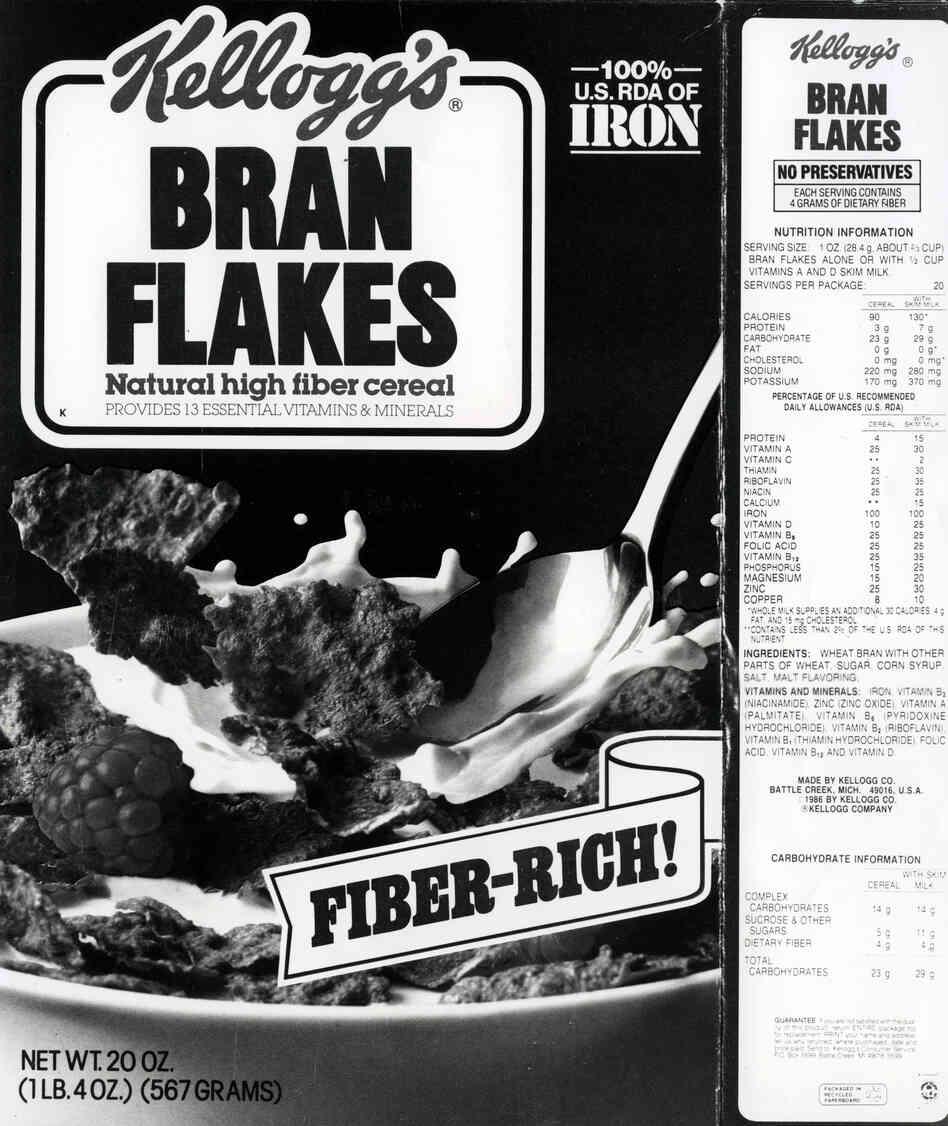 Nutrition Labels To Get Long-Overdue Tweaks : The Salt : NPR
