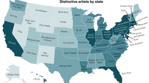 Mapping Differences In America's Musical Tastes, State By State