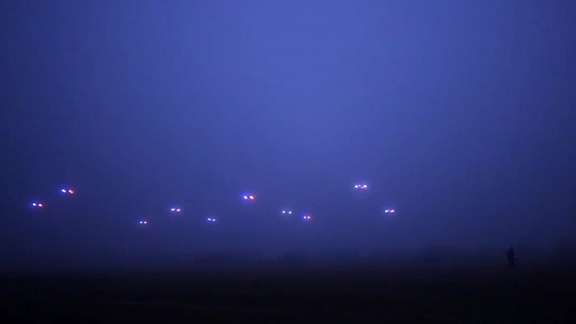 Robot Swarm: A Flock Of Drones That Fly Autonomously