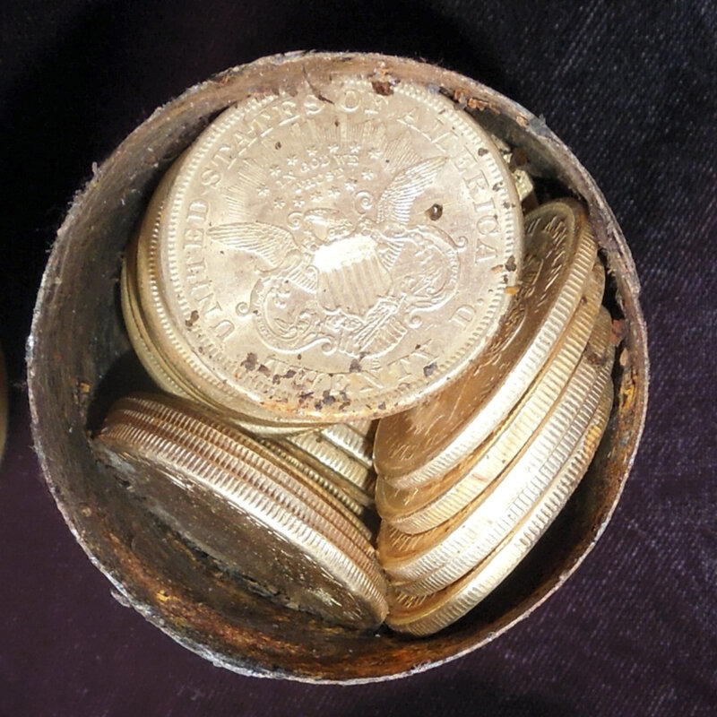 What A Rush California Finds Gold Coins Worth 10m