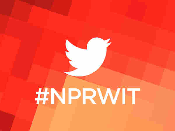 Join the conversation in twitter by following the hashtag #NPRWIT.