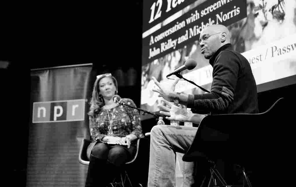 12 Years A Slave writer and producer John Ridley joined Michele Norris in NPR's Studio 1 for a wide-ranging conversation.