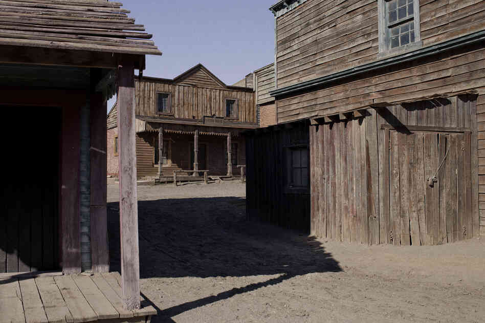 Prolific Spaghetti Western director Sergio Leone made dozens of films in the Tabernas Desert. When the industry moved out, his sets stayed behind.