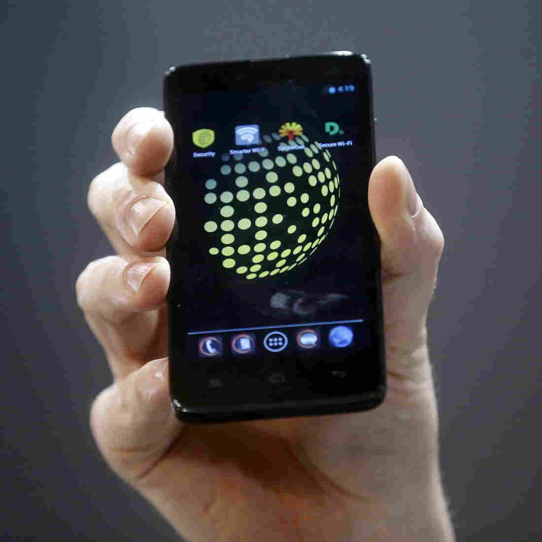 The Blackphone, an Android software-based mobile, encrypts texts, voice calls and video chats.