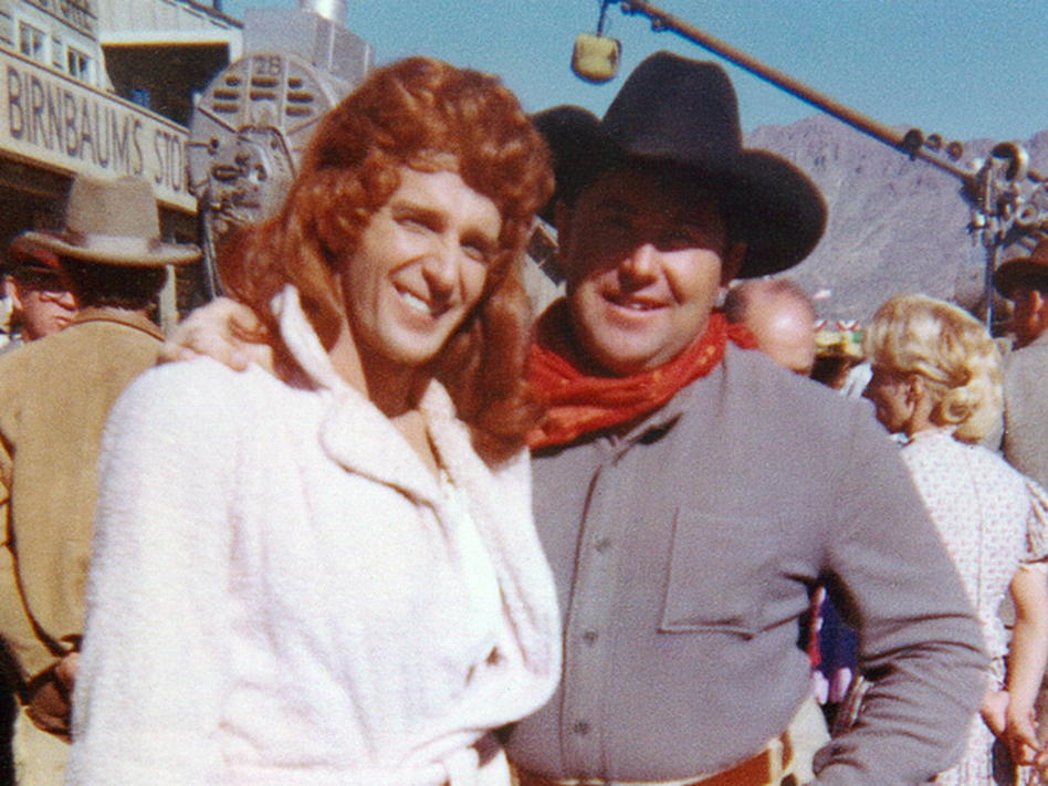 a cowboy stunt double who made the stars look good