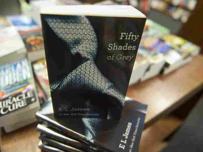 Copies of Fifty Shades of Grey by E. L. James at the Politics and Prose Bookstore in Washington, D.C.