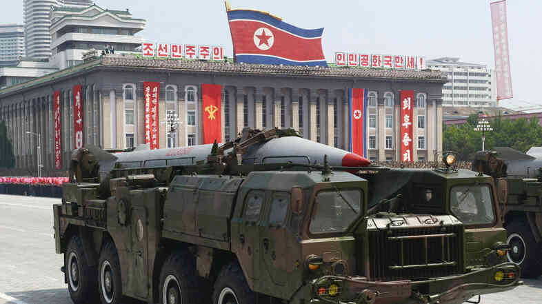 In Pyongyang, North Korea, last July, this short-range missile was among the military hardware on parade.