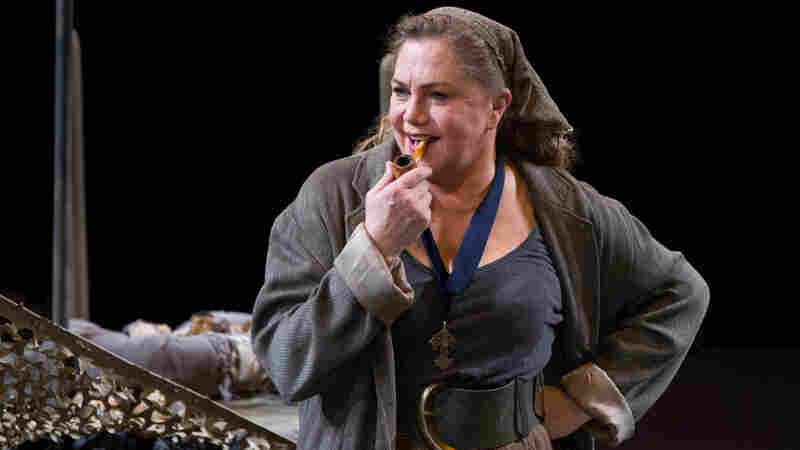 Actress Kathleen Turner — the voice of Jessica Rabbit and the star of the steamy Body Heat on the big screen — is tackling the monumental title role in Mother Courage and Her Children at Arena Stage in Washington, D.C.
