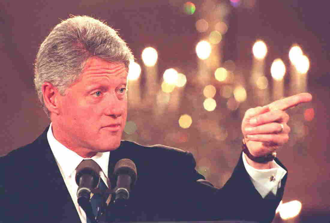 President Bill Clinton in 1995.