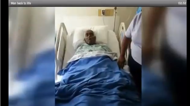 Miss  Man Thought Dead, Comes Back To Life On Embalming