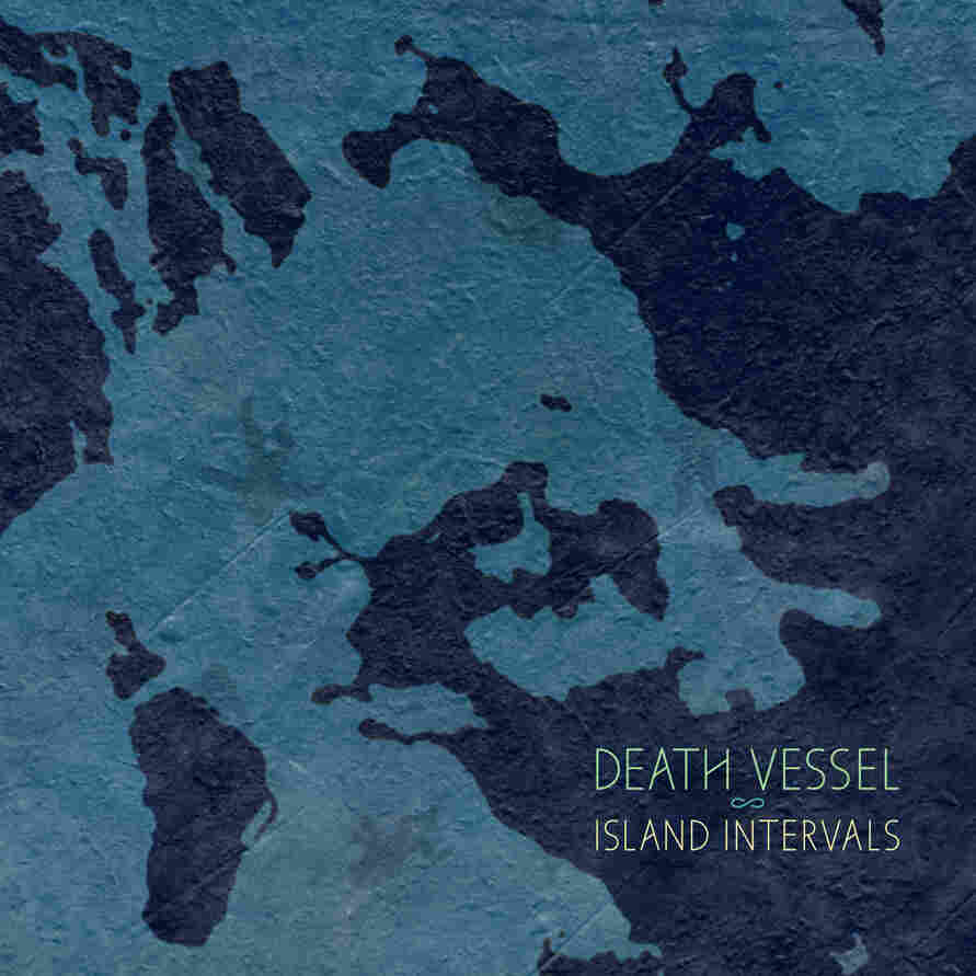 Cover art for the Death Vessel album Island Intervals.