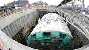 Sand Grinds World's Largest Tunneling Machine To A Halt